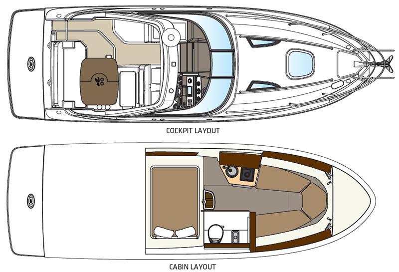 Experience the Sea Ray Sundancer 260 | Your 26' Luxury Cabin
