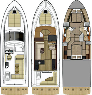 Fly 460Floorplan
