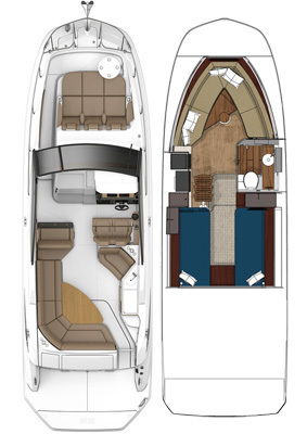 Sundancer 320Floorplan