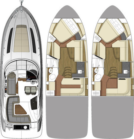 Sundancer 350Floorplan